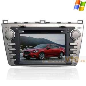 Штатная магнитола Mazda 6 GPS Winca S100 C 012 серая