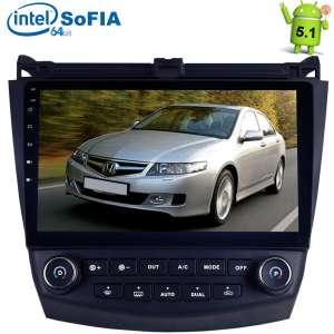 Штатная магнитола Honda Accord CL7 CL9 LeTrun 1824 Android 5.1 9 дюймов