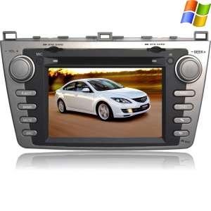Штатная магнитола Mazda 6 2008-2012 LeTrun 1605 серая