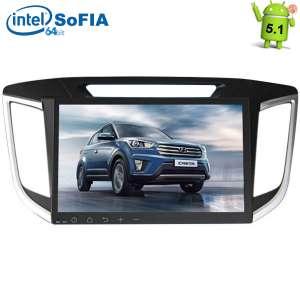 Штатная магнитола Hyundai Creta  LeTrun 1726 HH Intel Android 5.x экран 10 дюймов