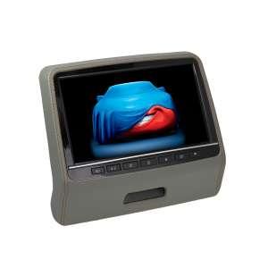 Навесной монитор на подголовник 9 дюймов LeTrun 2003 DVD-SD-USB серый