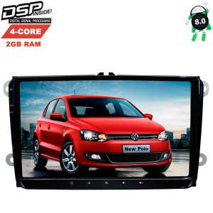 Штатная магнитола Volkswagen Polo, Jetta, Passat, Tiguan LeTrun 2613 Android 8.x DSP