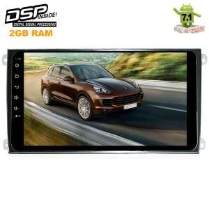 Штатная магнитола Porsche Cayenne 2002-2010 LeTrun 1934 9 дюймов! Android 7.1.1 DSP