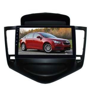 Штатная магнитола для Chevrolet Cruze до 2013 года (Черный) LeTrun 1893-2987 9 дюймов NS Система 360° MTK 2+32 Gb Android 7.x