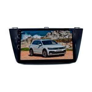 Штатная магнитола для Volkswagen Tiguan с 2017 года LeTrun 1861-2059 10 дюймов KD Android 8.x MTK 4G 2+16 Gb