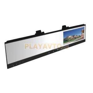 Видеорегистратор в зеркале с подключением камеры LetRun LT-100 HD 720P HD