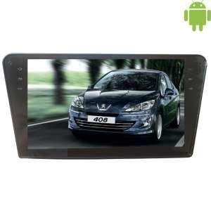 Штатная магнитола Peugeot 408 LeTrun 1749 Android 4.4.4 экран 10 дюймов