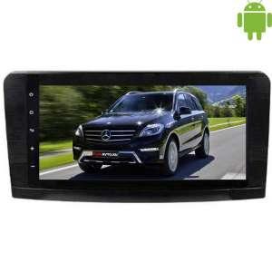 Штатная магнитола Mercedes ML GL (2005-2012) LeTrun 1566 Android 4.4.4 экран 9 дюймов