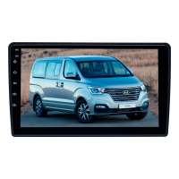 Штатная магнитола для Hyundai Grand Starex 2007-15, H1, i800, iMax 2008-15 (черный) LeTrun 3745-4498 9 дюймов XY Android 10 MTK-L 2+16 Gb IPS