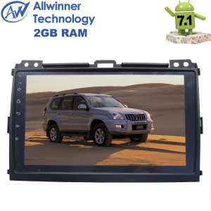 Штатная магнитола Toyota Land Cruiser Prado 120 LeTrun 2583 Android 7.1.2 Alwinner экран 9 дюймов