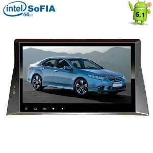 Штатная магнитола Honda Accord 8 LeTrun 1844 Intel Android 5.1 экран 10,2 дюйма
