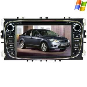 Штатная магнитола Ford Focus 2 черный LeTrun 0305