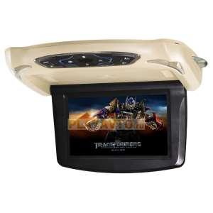 Потолочный монитор DS-9088D 10 дюймов DVD-SD-USB бежевый