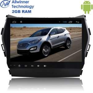 Штатная магнитола Hyundai Santa Fe с 2013 года, IX45 LeTrun 2545 Android 6  9 дюймов Alwinner T3
