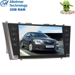 Штатная магнитола Toyota Camry 2006-2011 LeTrun 2110  Android 7.1.2  Alwinner экран 9 дюймов