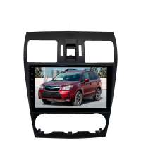 Штатная магнитола для Subaru Forester 2012-2016; Impreza, XV 2011-2016 LeTrun 2910-3915 9 дюймов IN с 1DIN корпусом Android 10.x 6+128 Gb 8 ядер DSP