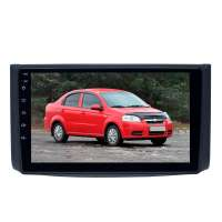 Переходная рамка для Chevrolet Aveo 2007-2011 Lova 2007-2011 Nexia R3 с 2016 LeTrun 3258 AV под базовую магнитолу 9 дюймов