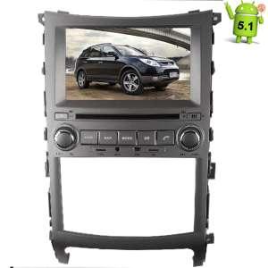 Штатная магнитола Hyundai IX55 Veracruz  LeTrun 1853 Android 5.1