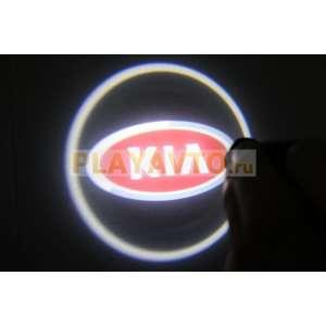 Проекторы логотипа в двери для  Kia