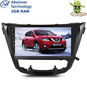 Штатная магнитола Nissan X-trail,Qashqai 14+ LeTrun 2278 ZH Android 7.x Alwinner T3 экран 10 дюймов