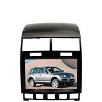 Штатная магнитола для Volkswagen Touareg 2003-2010 LeTrun 3315-3915 9 дюймов IN с 1DIN корпусом Android 10.x 6+128 Gb 8 ядер DSP