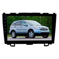 Штатная магнитола для Honda CRV 2006-2012 гг. LeTrun 1881-3915 9 дюймов IN с 1DIN корпусом Android 10.x 6+128 Gb 8 ядер DSP