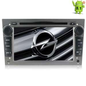 Штатная магнитола Opel Astra, Vectra, Zafira, Corsa LeTrun 1419 Android 5.1 цвет серый
