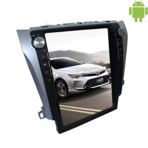 Штатная магнитола Toyota Camry с 2015 года LeTrun 2090 Android 4.4.4 экран 12 дюймов Tesla