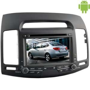 Штатная магнитола Hyundai Avante, Elantra до 2011 года Android 4.4.4 LeTrun 1612