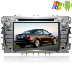 Штатная магнитола Ford Focus 2 Mondeo серый Carpad duos II Android 4.4.4