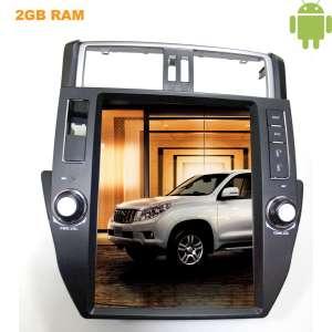 Штатная магнитола Toyota Prado 150 09-13 LeTrun 2098 Android 4.4.4 экран 12 дюймов Tesla