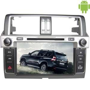 Штатная магнитола Toyota Prado 150 с 2013 Android 4.4.4 LeTrun 1637 поддержка JBL