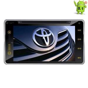 Штатная магнитола Toyota универсальная 200*100 LeTrun 1642 Android 5.1
