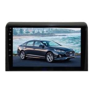 Штатная магнитола для Hyundai Sonata с 2017 года LeTrun 3810-4658 9 дюймов KLD с 1DIN корпусом Android 10 PX6 4+64 DSP