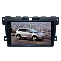 Штатная магнитола для Mazda CX7 2006-2012 гг. LeTrun 4344-3915 9 дюймов IN с 1DIN корпусом Android 10.x 6+128 Gb 8 ядер DSP
