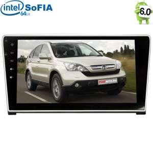 Штатная магнитола Honda CRV до 2012 года LeTrun 2081 Android 6.0.1 Intel экран 10,2 дюйма