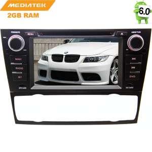 Штатная магнитола BMW E90 3-series,Touring E91 3-series с 2005г. LeTrun 2424  Android 6.0.1 MTK 4G